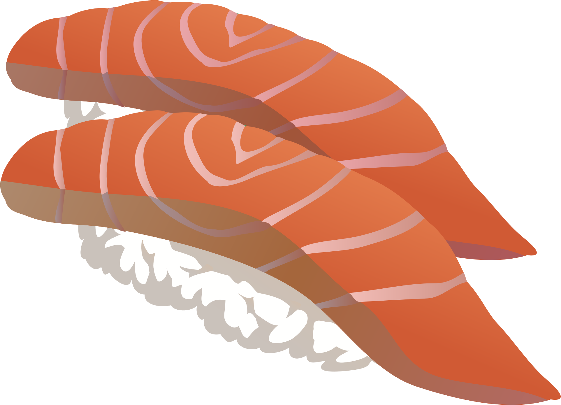 png royalty free stock Cinnamon roll clipart adorable.  cool cooked salmon.