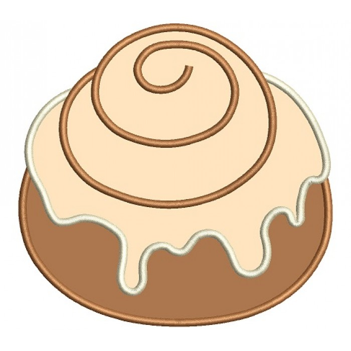 svg black and white Cinnamon roll clipart five. Rolls station .