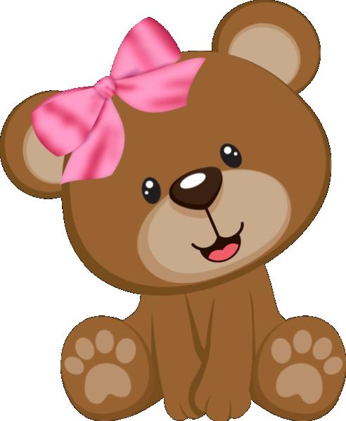 jpg transparent library Tags marrom e rosa. Cute brown bear clipart
