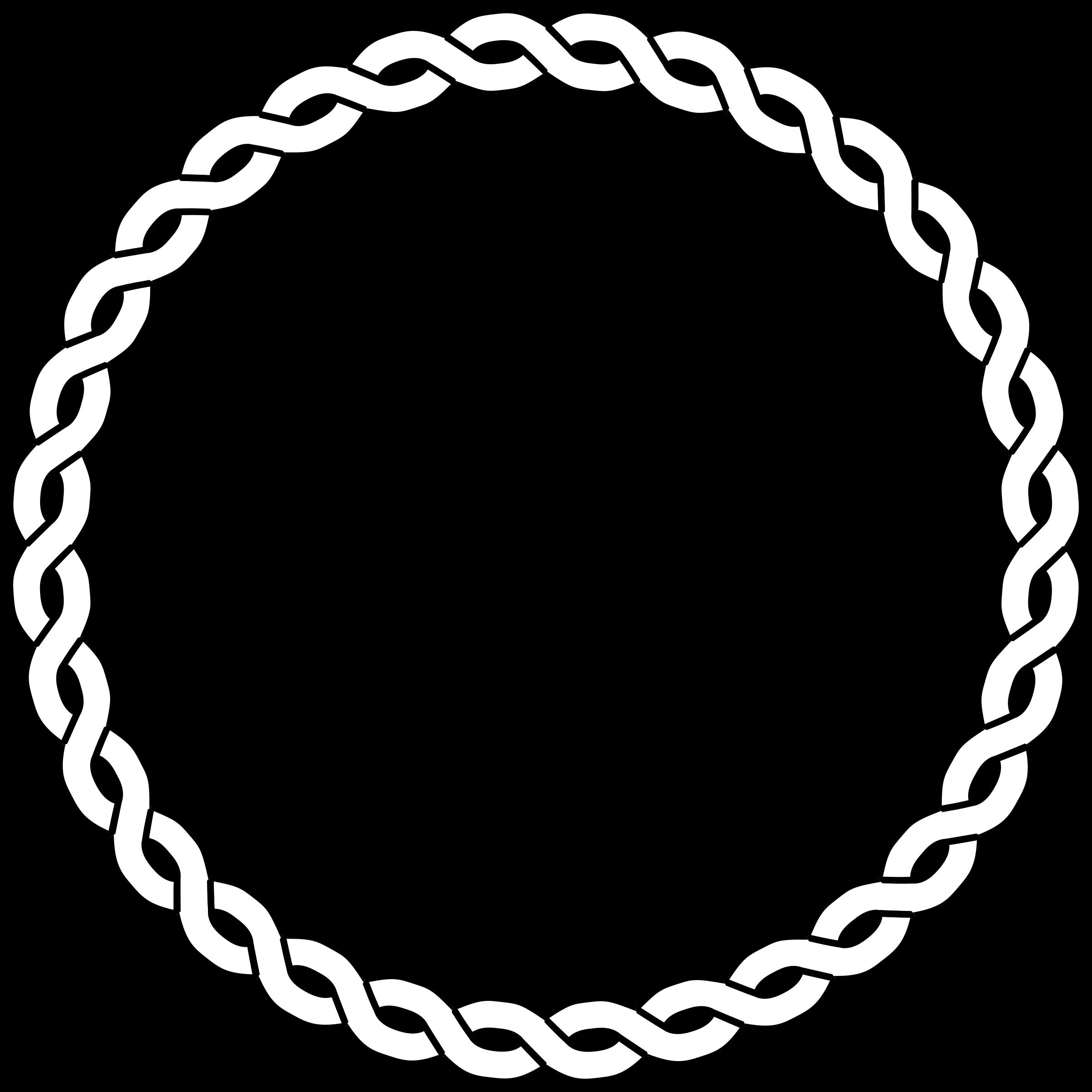 vector transparent library Drawing rope nautical. Clipart border circle big