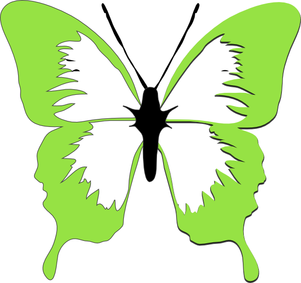 clip library stock Courtney clip art at. Circle clipart butterfly.