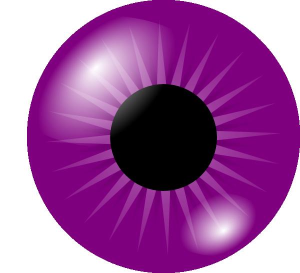 clip free download Circle clipart eye. Purple clip art at.