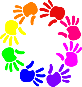 clip art library download Of hands clip art. Circle clipart hand.