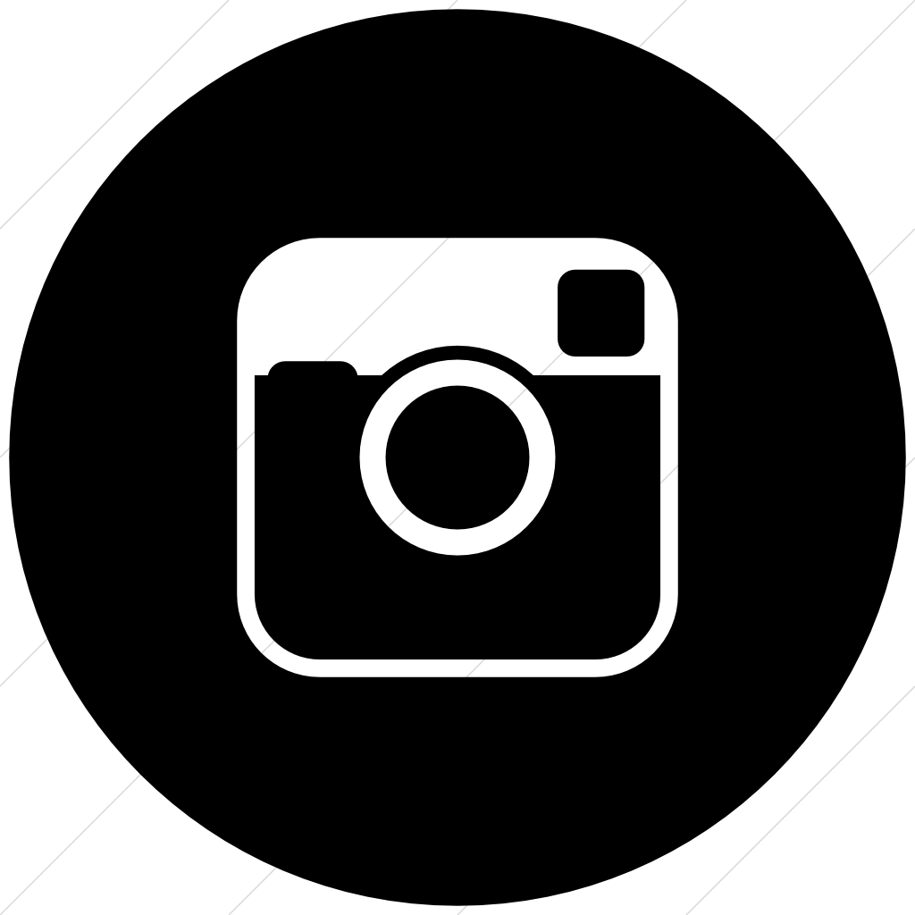 clip black and white library Unique black and white. Circle clipart instagram.