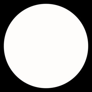clipart transparent download Black outline clip art. Circle clipart medium.