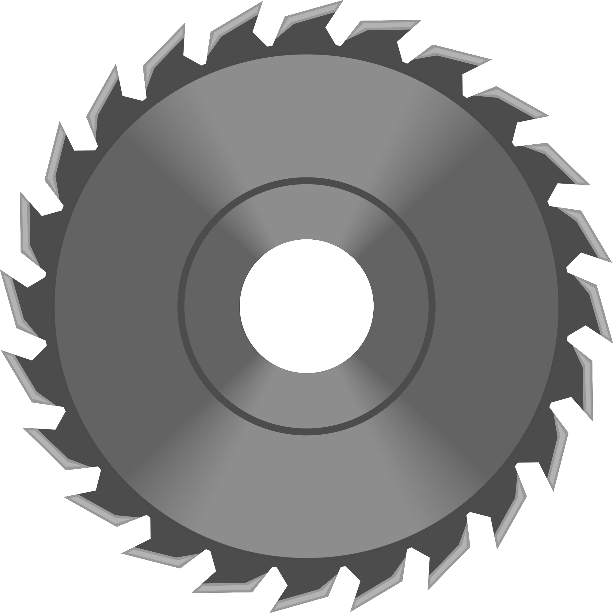 picture black and white stock Best circular saw reviews. Sawblade vector