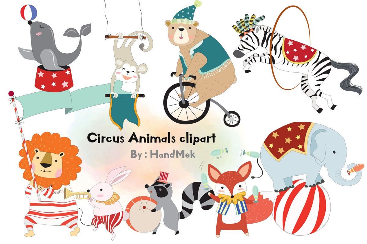 image freeuse Animals . Circus animal clipart
