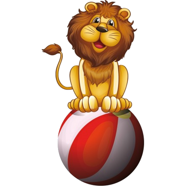 svg library  collection of cartoon. Circus animal clipart