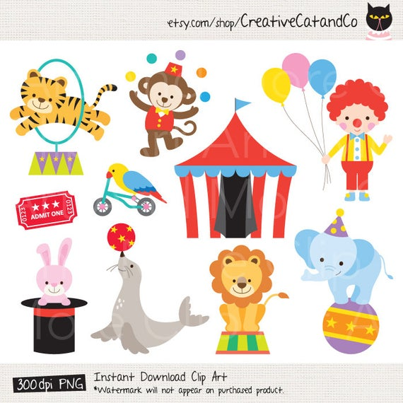 image transparent library Clip art clown lion. Circus animal clipart