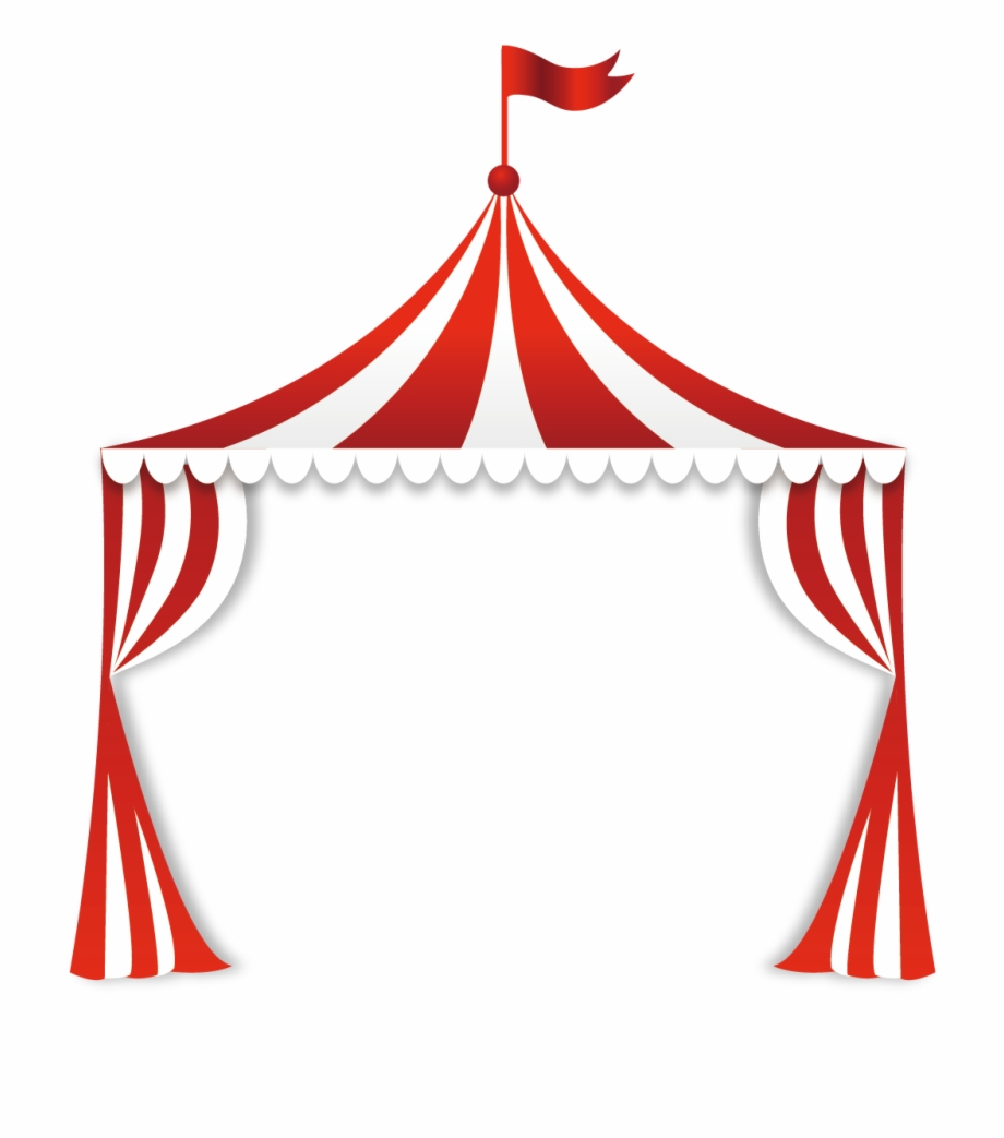 banner black and white stock Clip art border free. Circus tent clipart