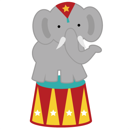 freeuse stock Elephant png svg for. Circus clipart circus animal.