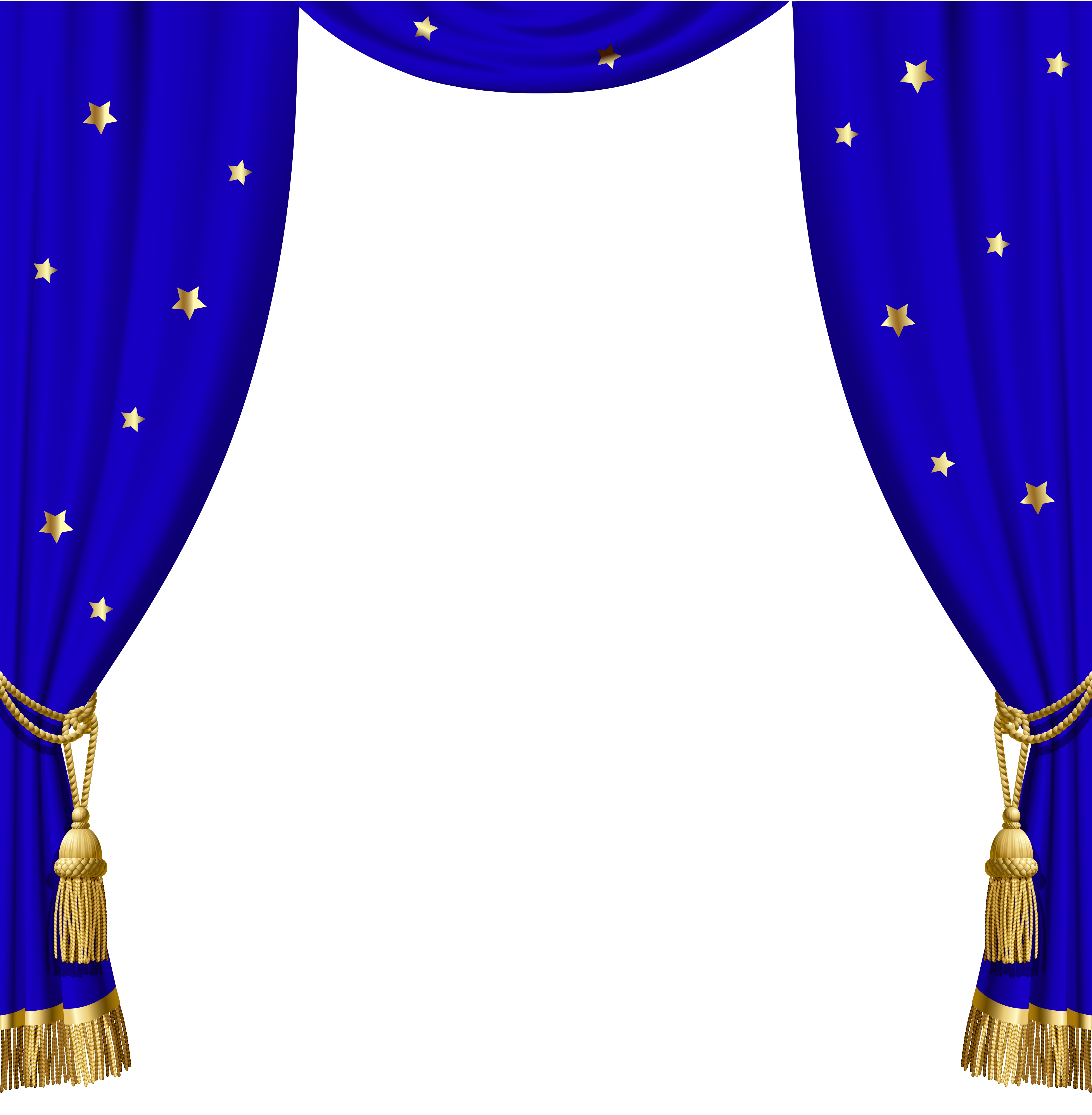 svg transparent Circus clipart curtain. Transparent blue curtains with.