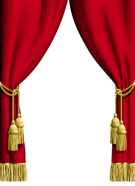banner Circus clipart curtain. Red transparent frame png.