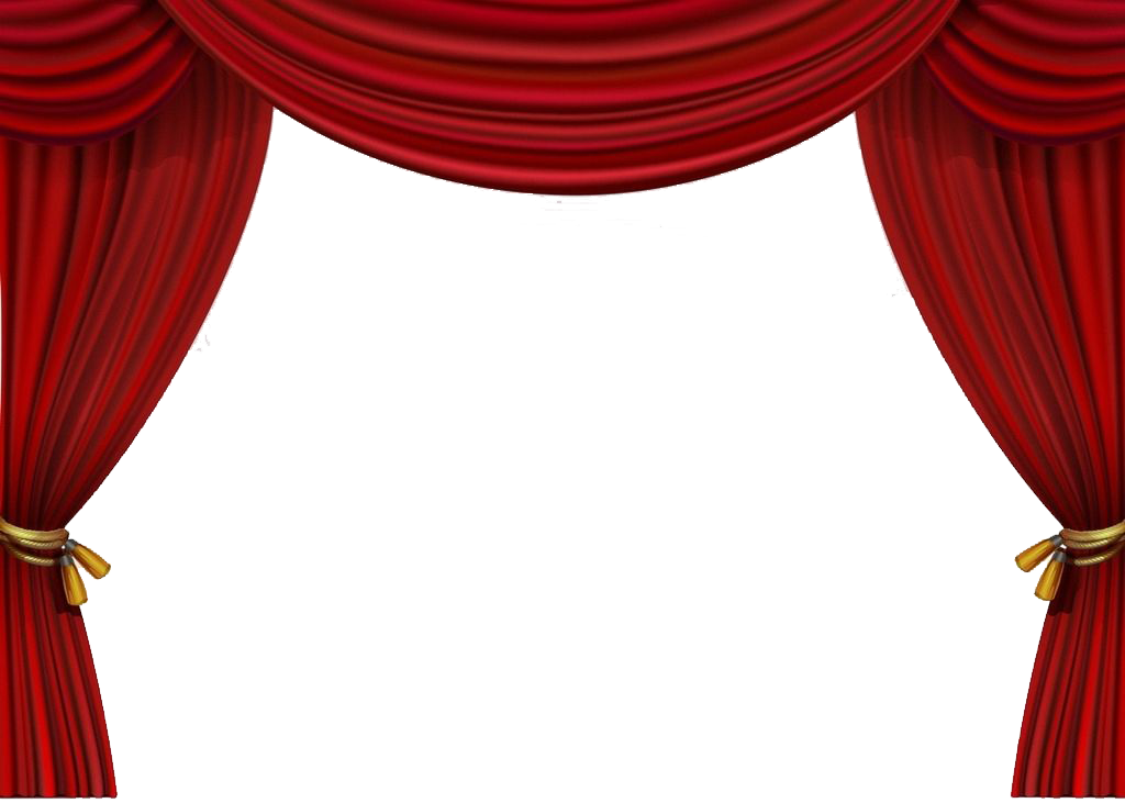 jpg transparent library Curtain vector illustrator. Stage curtains for schools