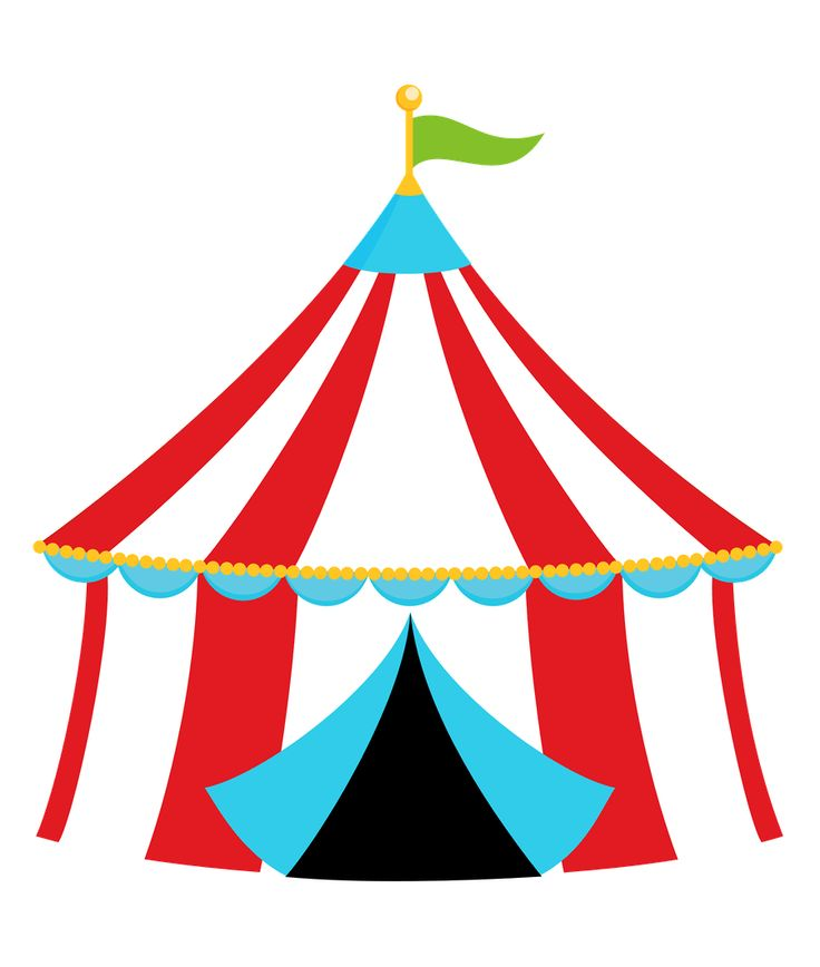 svg black and white stock Free circus theme cliparts. Arcade clipart carnival tent