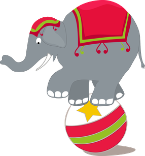 png black and white download Elephant clip art pinterest. Circus clipart vector.