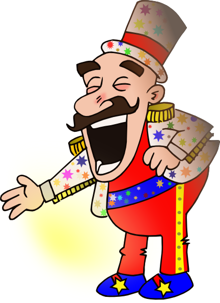 svg freeuse library Circus clipart vector. Chef clip art at.