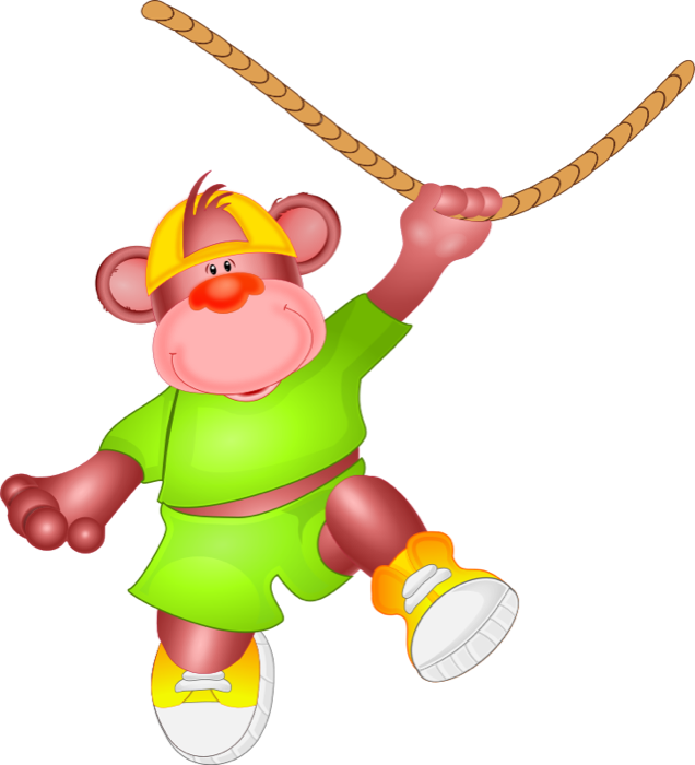 clipart download Ape clipart animated. Free monkey swinging