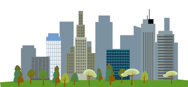 image black and white library Cities skylines clip art. City clipart city skyscraper.