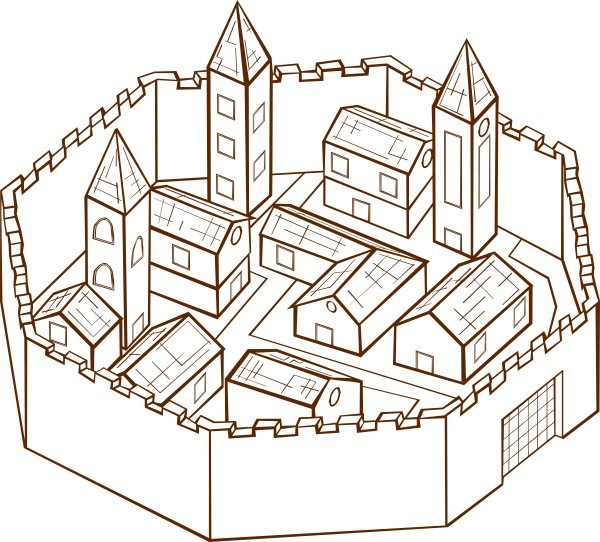 picture City clipart small city. Clip art at clker.