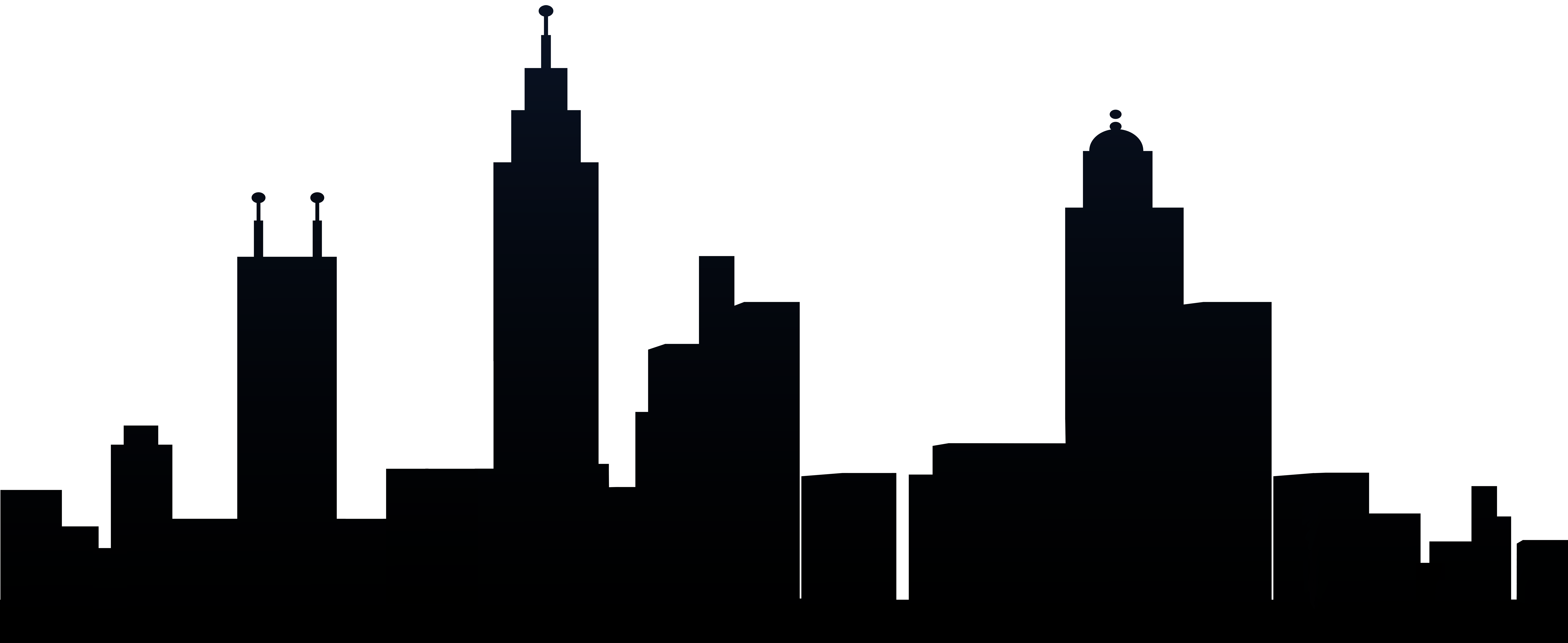 svg free stock City Silhouette PNG Clip Art Image