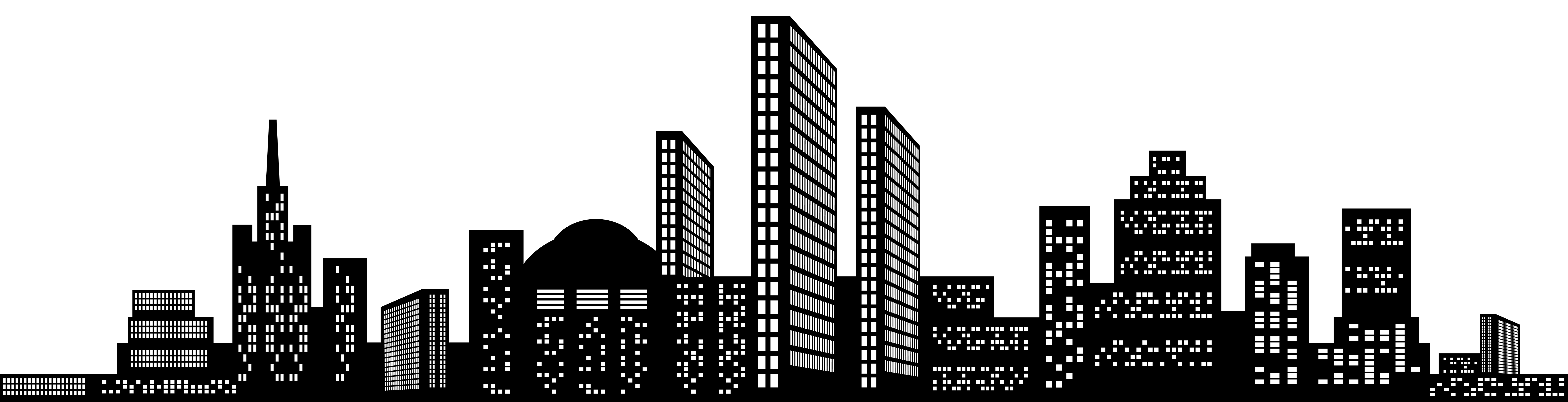 vector library download Cityscape Silhouette Clip Art PNG Image