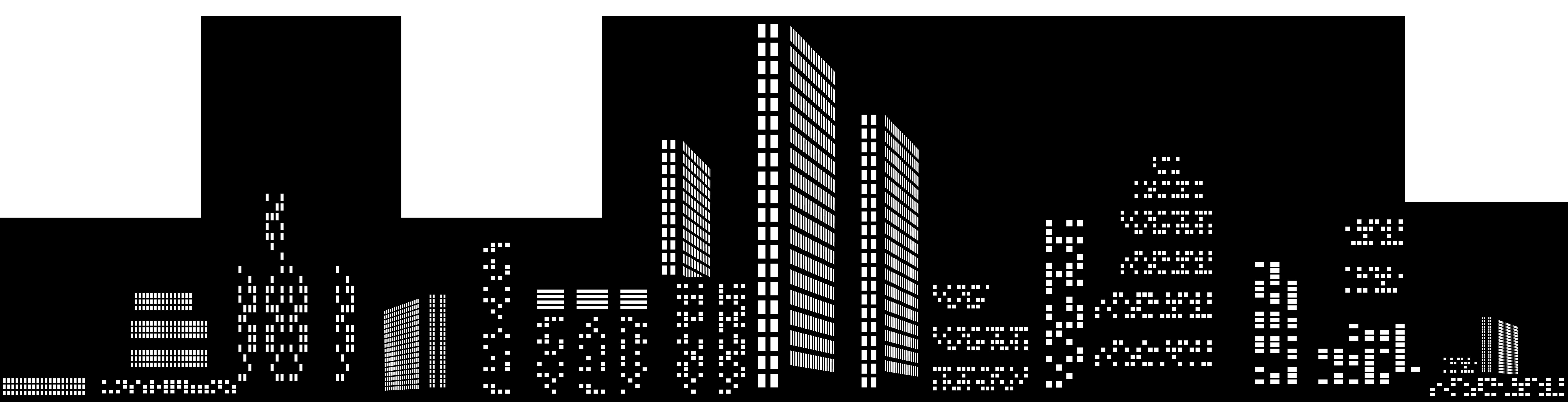 clipart free stock Building clipart skyline. Cityscape silhouette clip art.