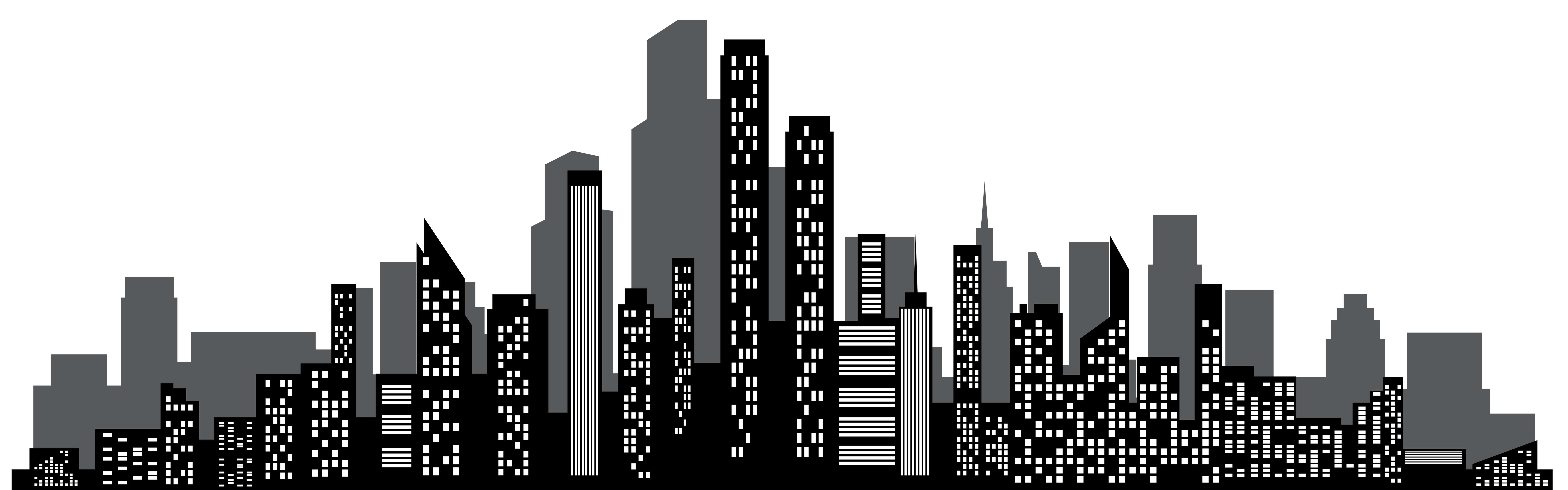 clip art freeuse stock Drawing cityscapes. Cityscape silhouette png clip