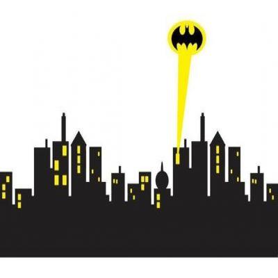 jpg library library Clip art library . Cityscape clipart batman