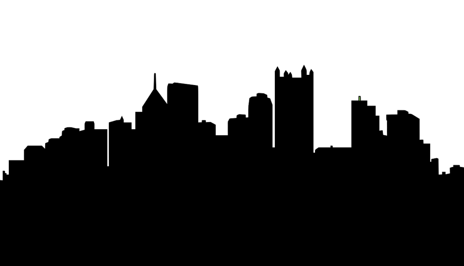 clipart black and white download Vegas Skyline Silhouette at GetDrawings