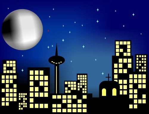 clip transparent download Free cliparts download clip. Cityscape clipart night time.