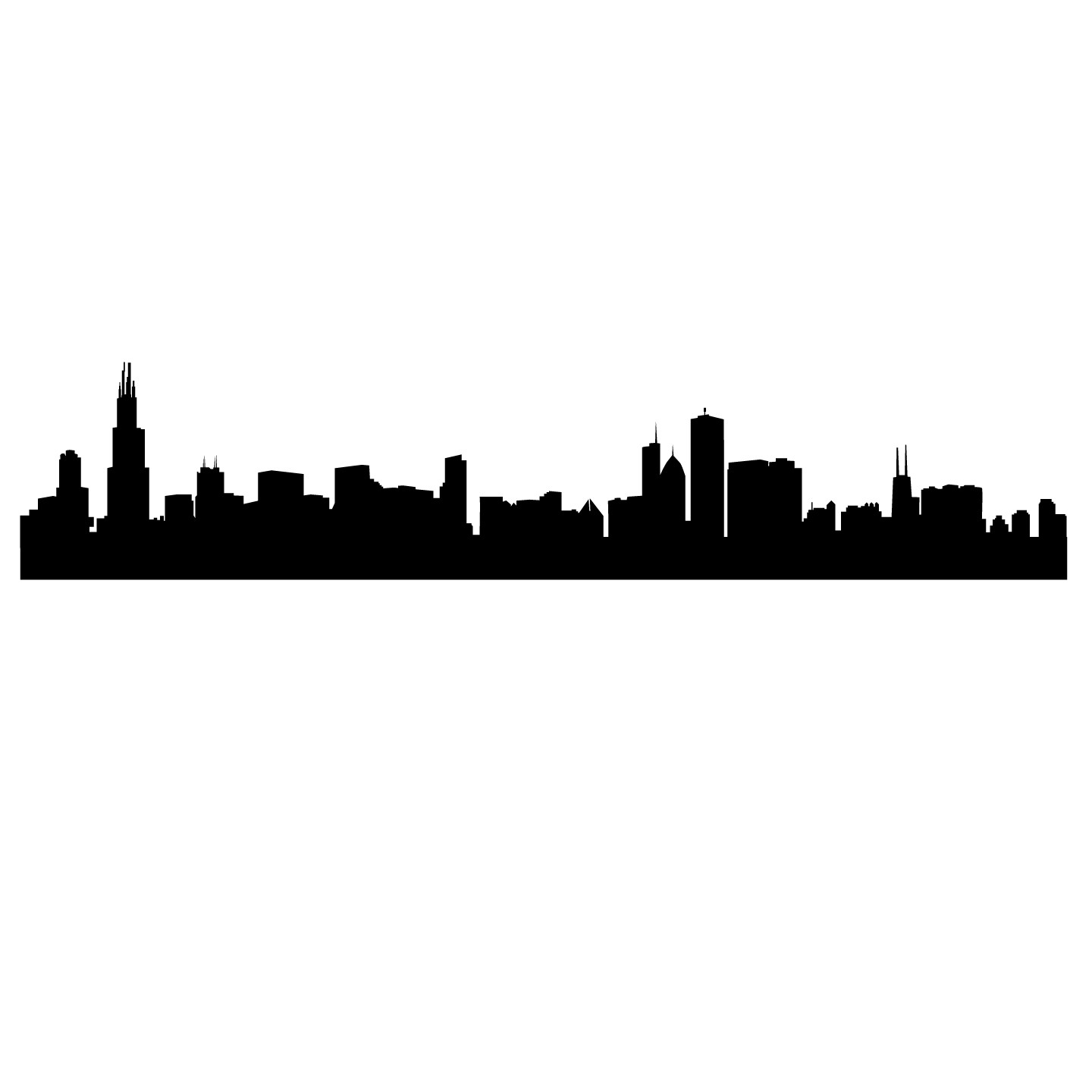 image library library Free silhouette download clip. Cityscape clipart simple
