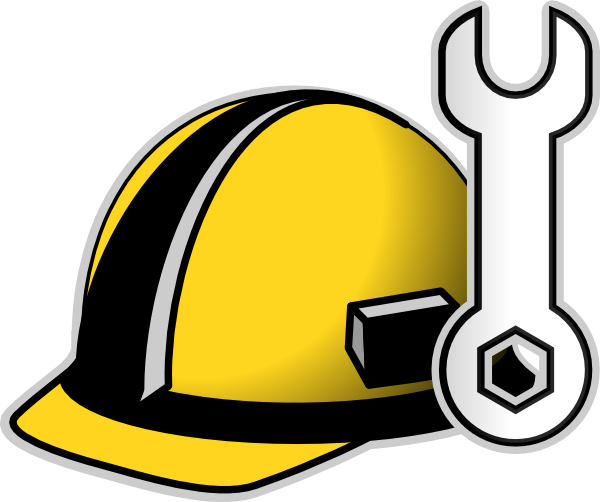 vector royalty free library Hard clip art at. Construction worker hat clipart.