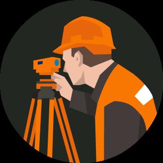 clip art freeuse stock Civil clipart land surveyor. Surveying image group olympia