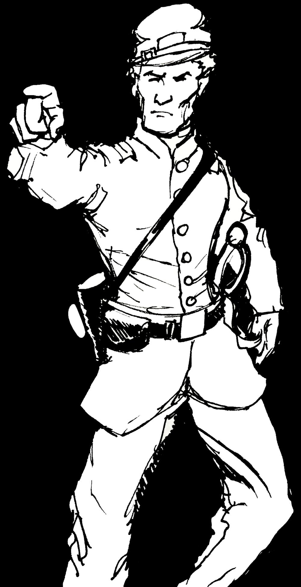 graphic Civil War Soldier Drawing at GetDrawings