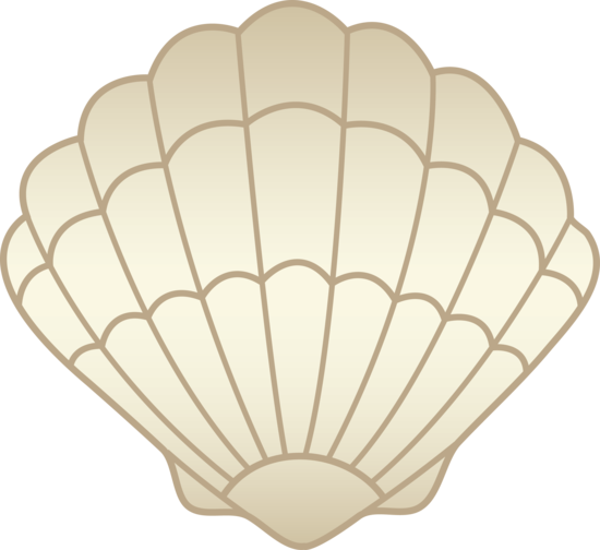 svg free stock Clam clipart. Shell .