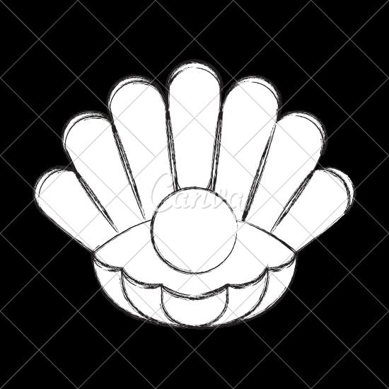 jpg royalty free download Pearl Shell Drawing at GetDrawings