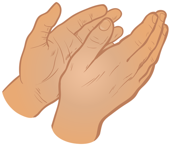 graphic transparent Group hands png clip. Hand clipart clapping