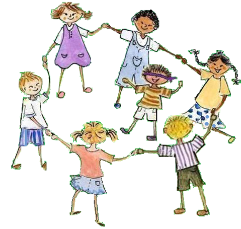 transparent Singing games for children. Clap clipart childrens game.
