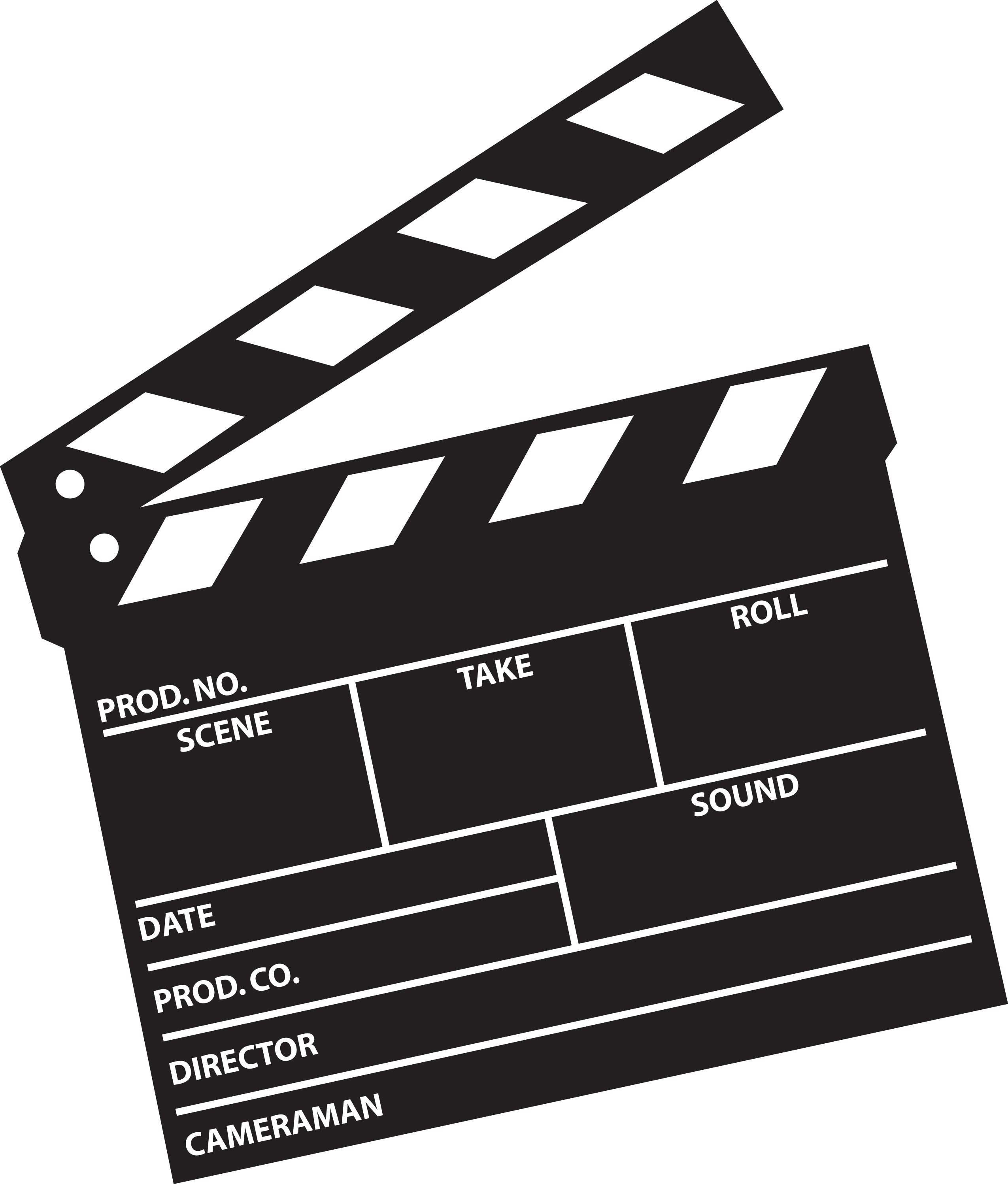 banner free download Free clapboard cliparts download. Board clip director