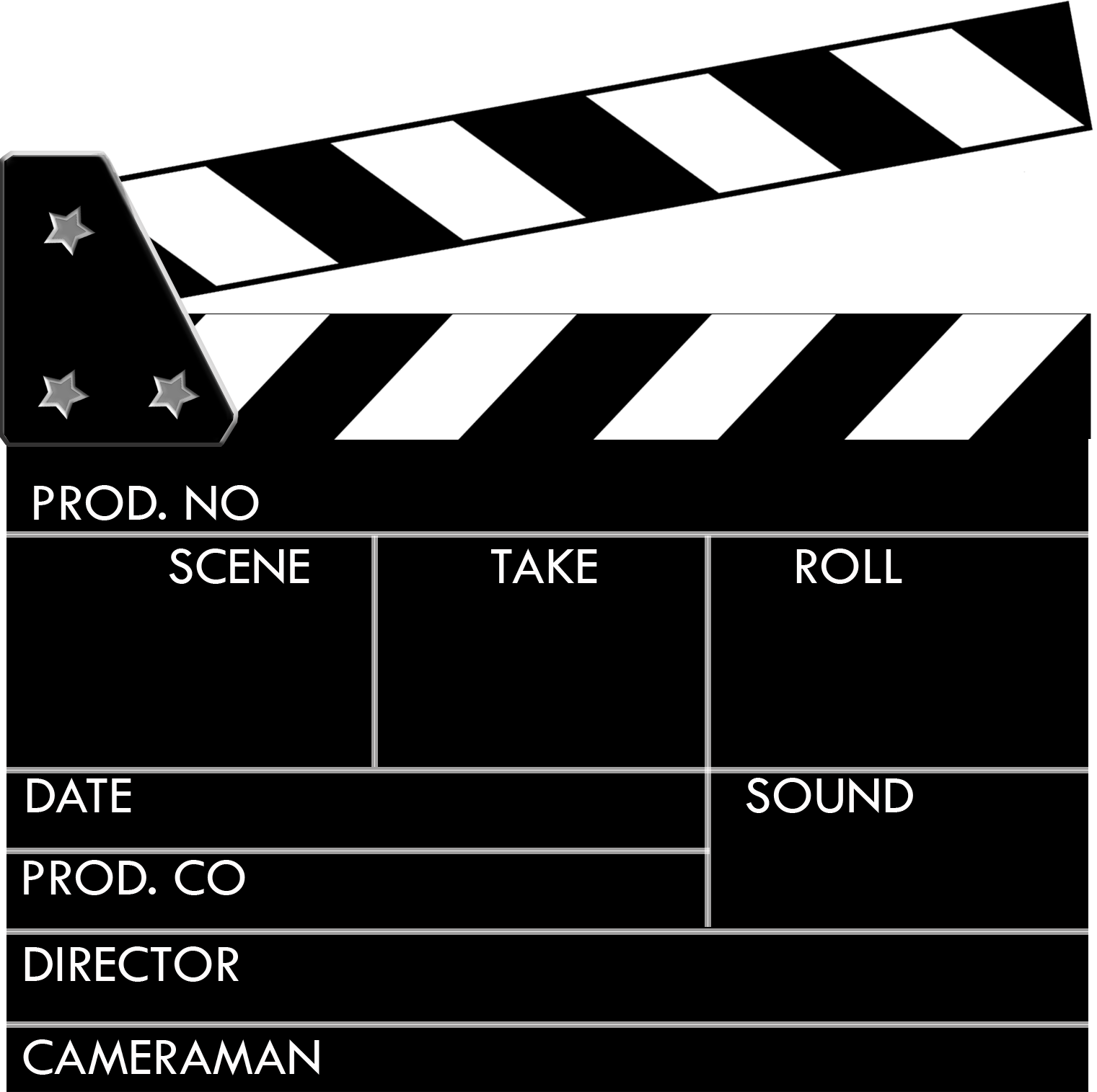 png free stock Clapperboard Clipart hollywood