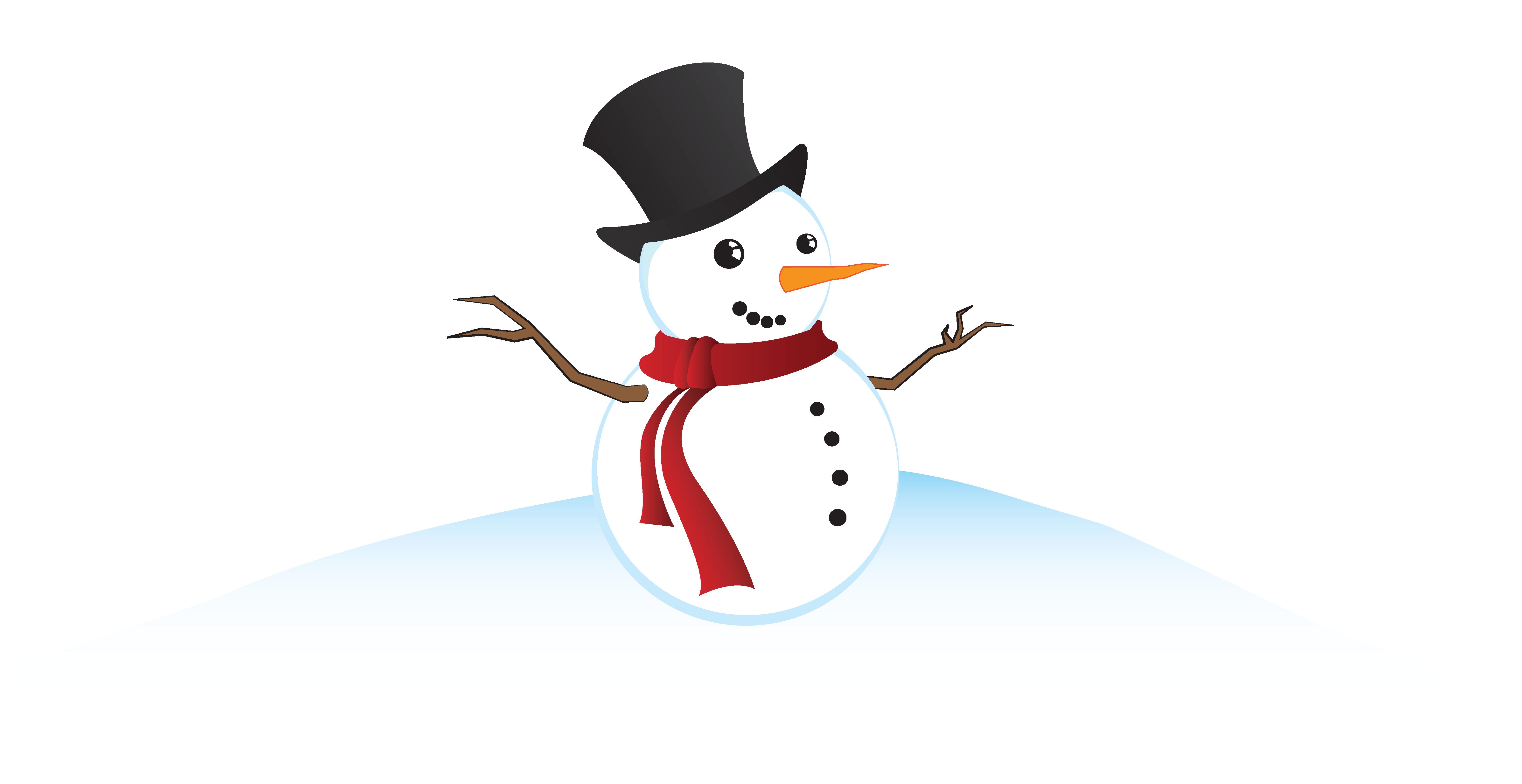 clip art freeuse download Clap clipart remarkable. The great snowman building.