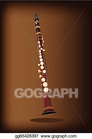image download Clarinet clipart beautiful. Vector stock a musical.
