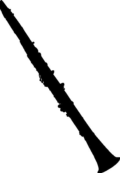 image transparent stock Clarinet Silhouette clip art