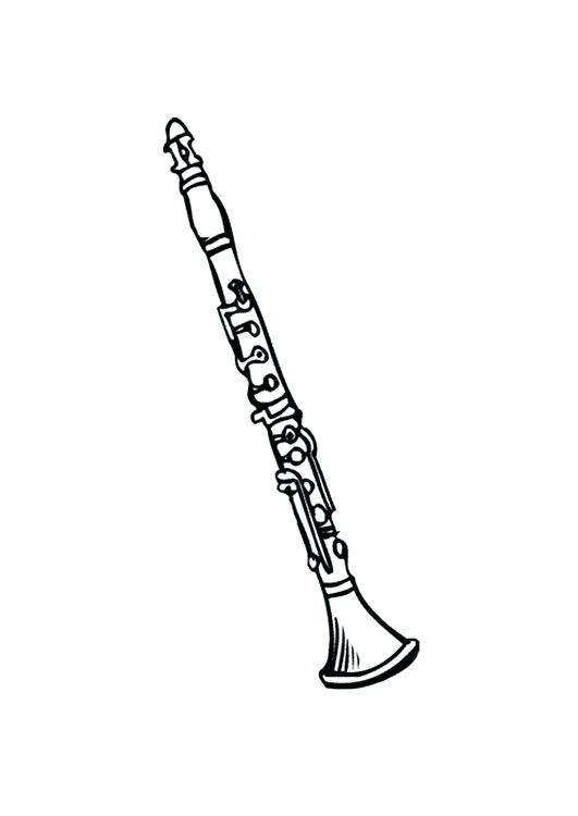 png stock Clarinet clipart sketch. Drawing step by free.