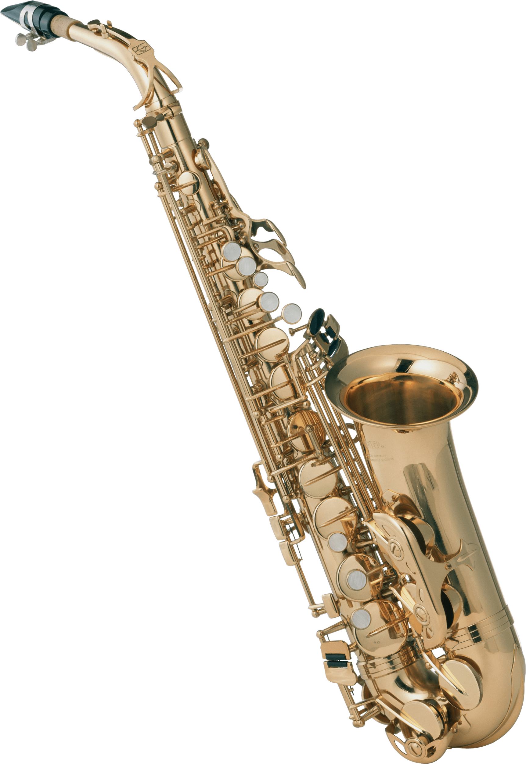 vector library library Clarinet clipart transparent background. Saxophone front png stickpng.