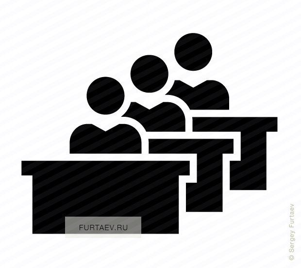 png free download Students in classroom vector icon