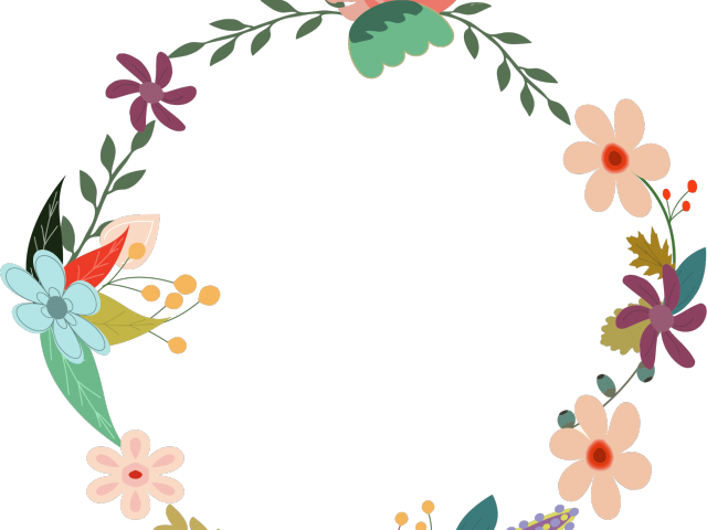 graphic black and white library Vintage flower free on. Classic clipart floral.