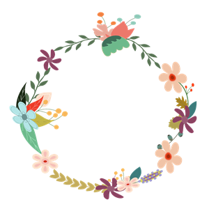 vector library library Classic clipart floral. Vintage wreath cliparts of.