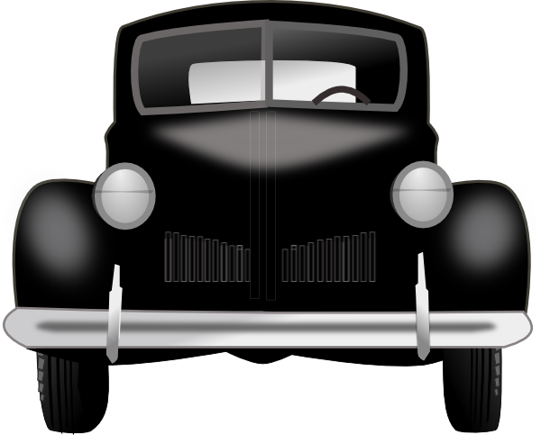clipart black and white download Classic clipart old fashion. Vintage car clip art.